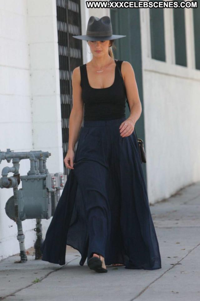 Minka Kelly Beverly Hills Celebrity Babe Paparazzi Beautiful Posing