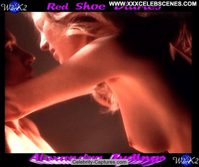 Alexandra Tydings Red Shoe Diaries  Topless Babe Celebrity Posing Hot