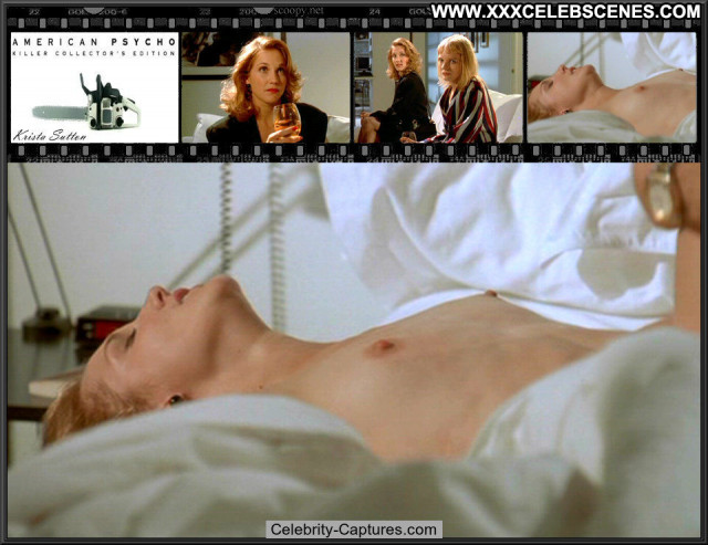Krista Sutton American Psycho Posing Hot Beautiful Sex Scene American