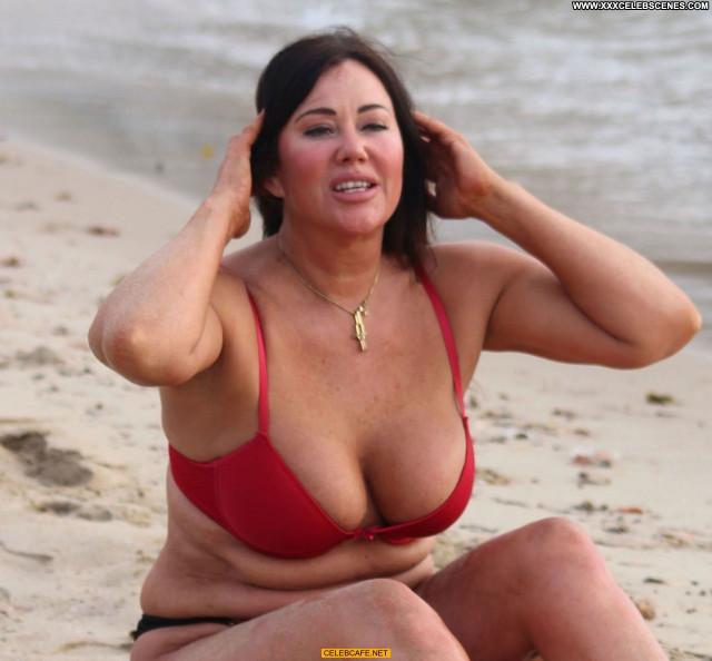 Lisa Appleton No Source Beach Nipple Slip Spain Celebrity Posing Hot