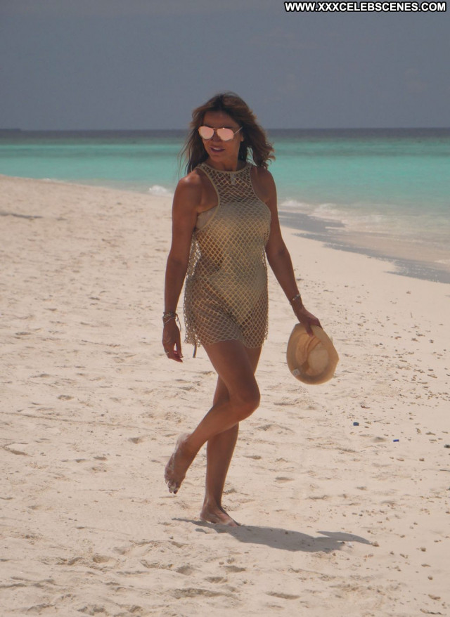 Amber Frank A Day Swimsuit Posing Hot Ocean Park Summer Singer Dad