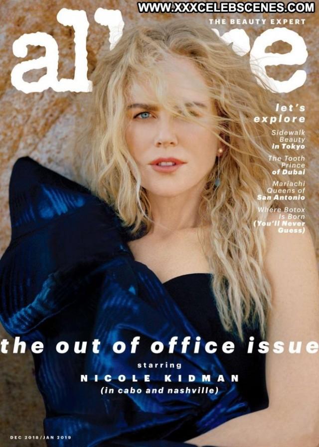 Nicole Kidman Allure Magazine Magazine Posing Hot Beautiful Paparazzi