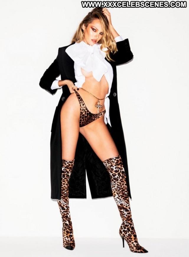 Candice Swanepoel No Source Babe Posing Hot Celebrity Paparazzi Car