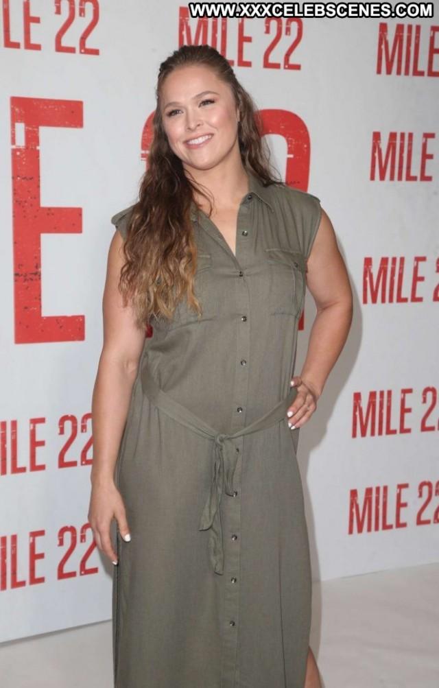Ronda Rousey Los Angeles Posing Hot Celebrity Angel Los Angeles Babe