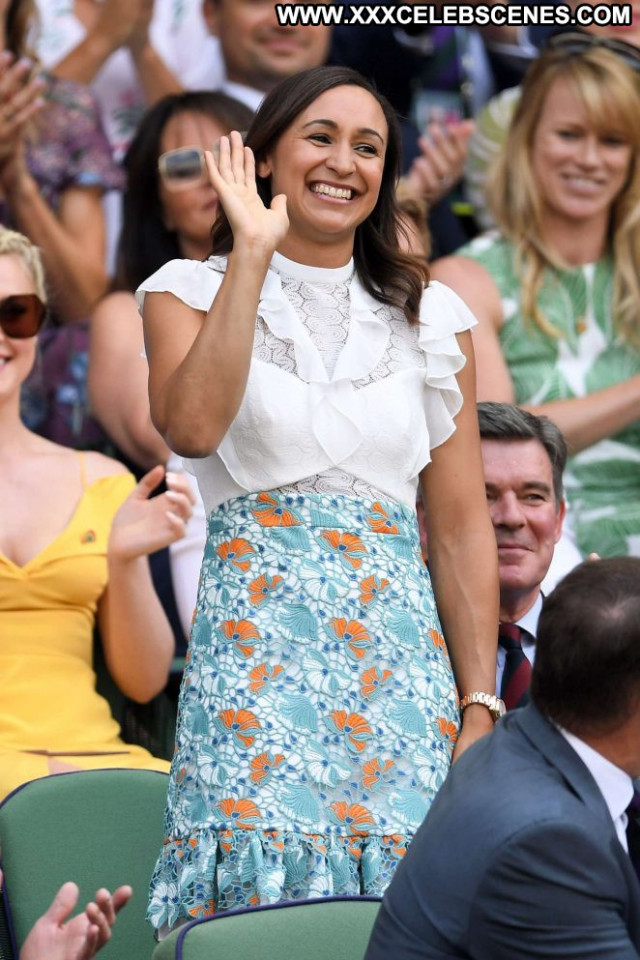 Jessica No Source London Posing Hot Beautiful Tennis Paparazzi