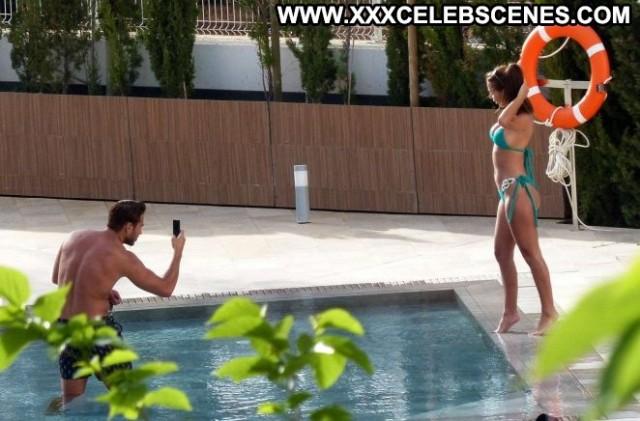 Yazmin Oukhellou The Pool Babe Paparazzi Pool Celebrity Beautiful