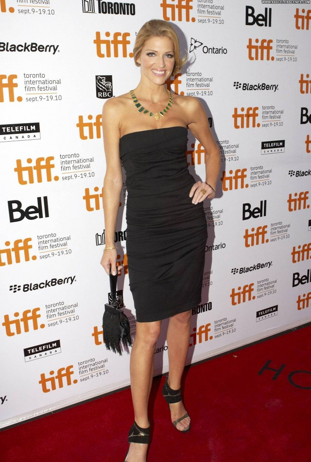 Tricia Helfer The Red Carpet Celebrity Beautiful Posing Hot Actress