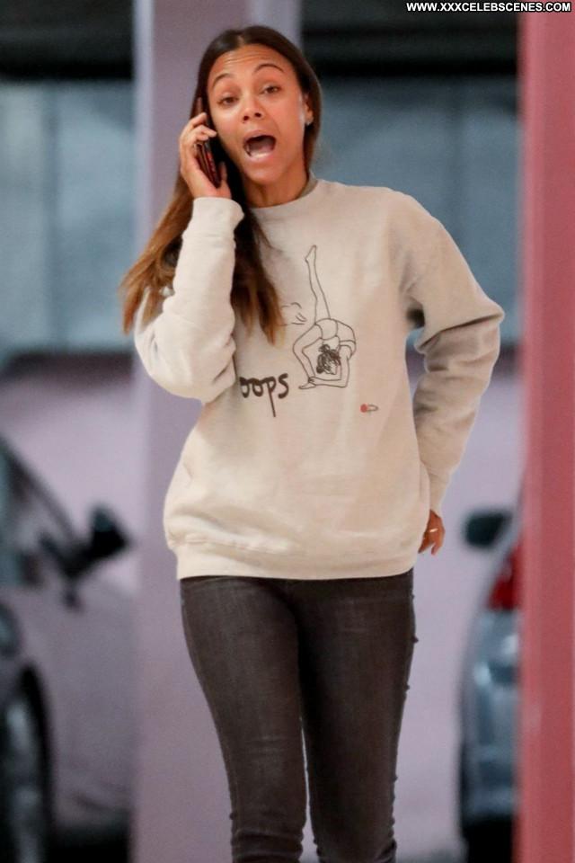 Zoe Saldana No Source Celebrity Posing Hot Beautiful Babe Sexy