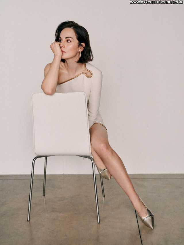 Michelle Dockery No Source Sexy Celebrity Posing Hot Beautiful Babe