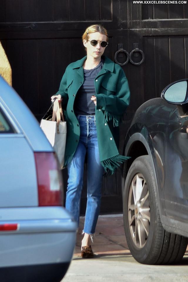 Emma Roberts No Source Beautiful Celebrity Babe Sexy Posing Hot