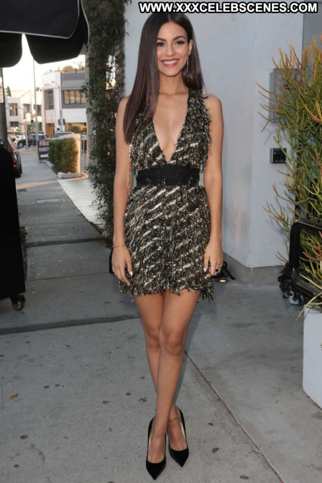 Victoria Justice West Hollywood West Hollywood Posing Hot Paparazzi