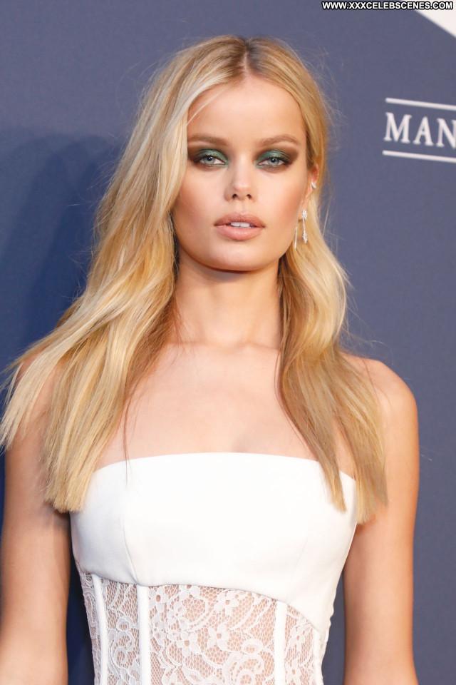 Frida Aasen No Source  Beautiful Posing Hot Celebrity Sexy Babe