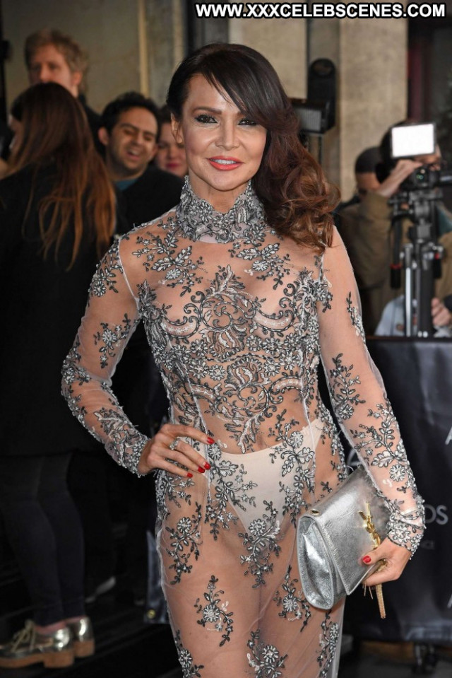 Lizzie Cundy No Source Beautiful Asian Awards Babe Celebrity Posing