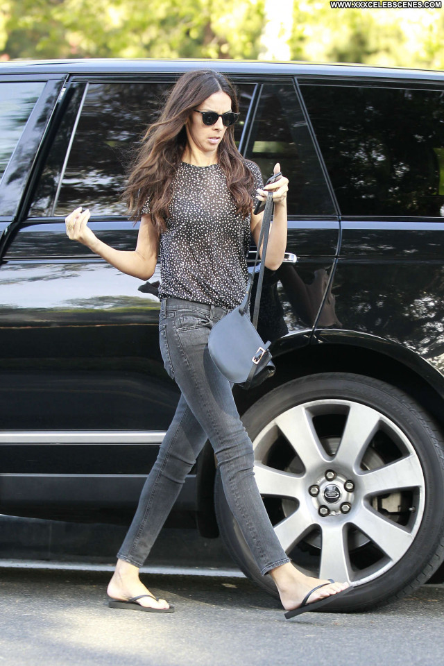 Terri Seymour Beverly Hills Park Babe Posing Hot Celebrity Beautiful