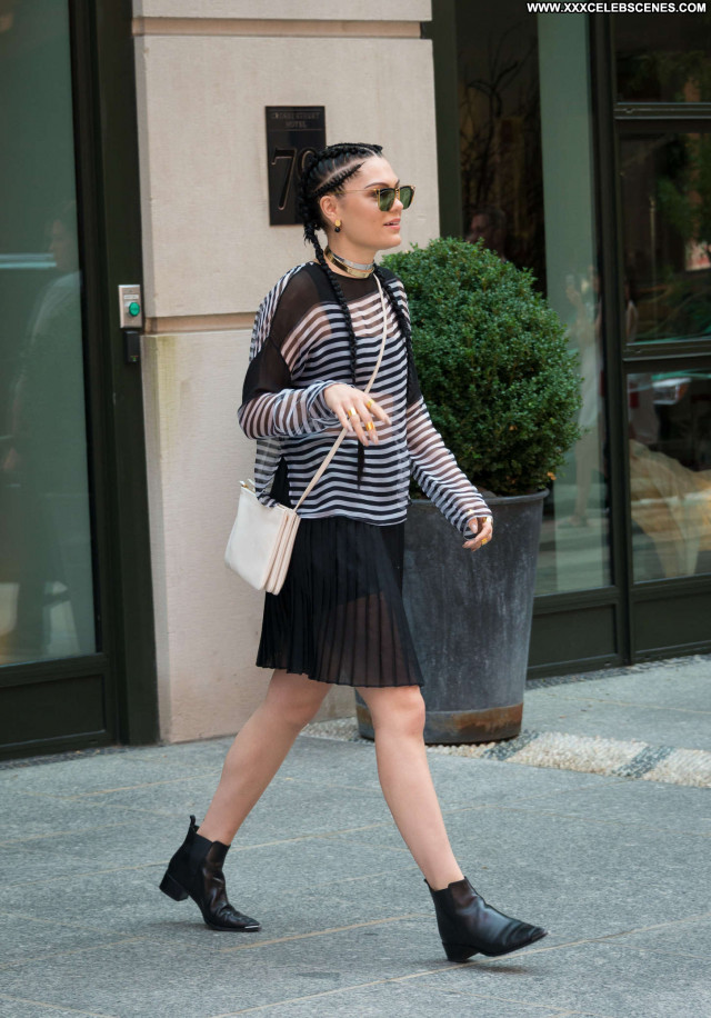 Jessie J No Source Babe Posing Hot Black Paparazzi Celebrity Nyc