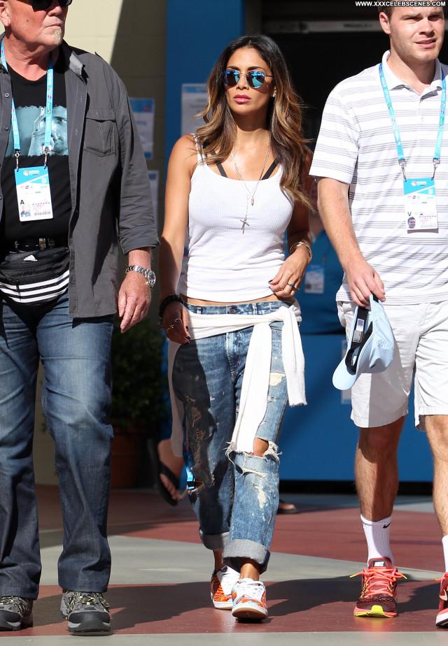 Nicole Scherzinger No Source Beautiful Babe Tennis International