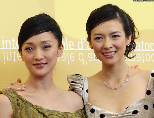 Zhang Ziyi No Source  Beautiful Posing Hot Celebrity Babe Asian