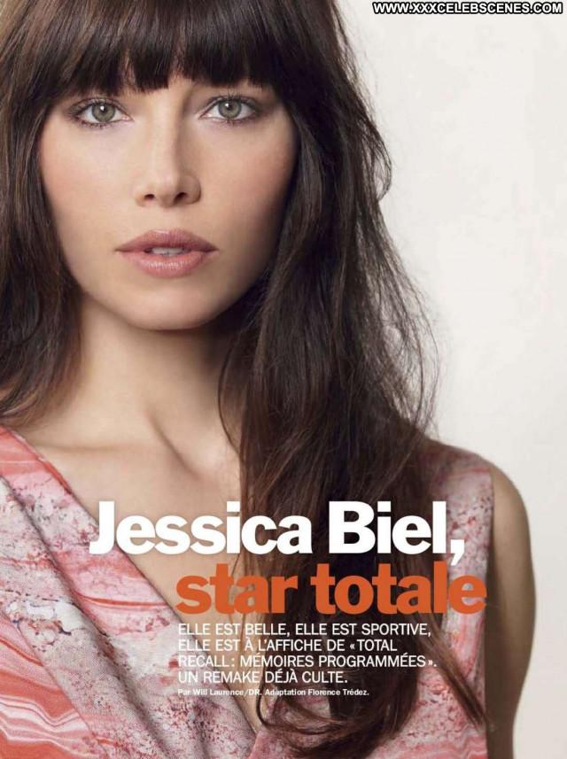 Jessica Biel No Source Celebrity Babe Paparazzi Magazine France