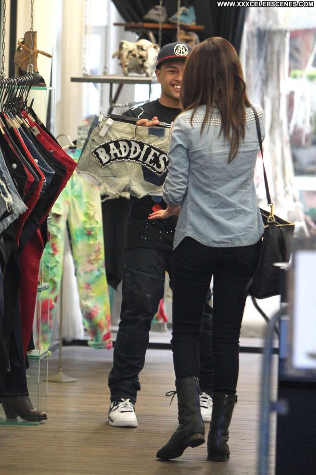 Selena Gomez No Source Celebrity Paparazzi Posing Hot Shopping Babe