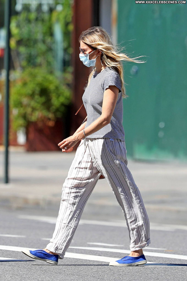 Sienna Miller New York Paparazzi Celebrity Babe Beautiful Posing Hot