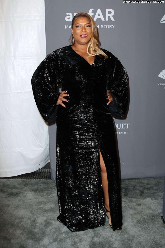Queen Latifah New York Beautiful Posing Hot Celebrity Paparazzi Babe