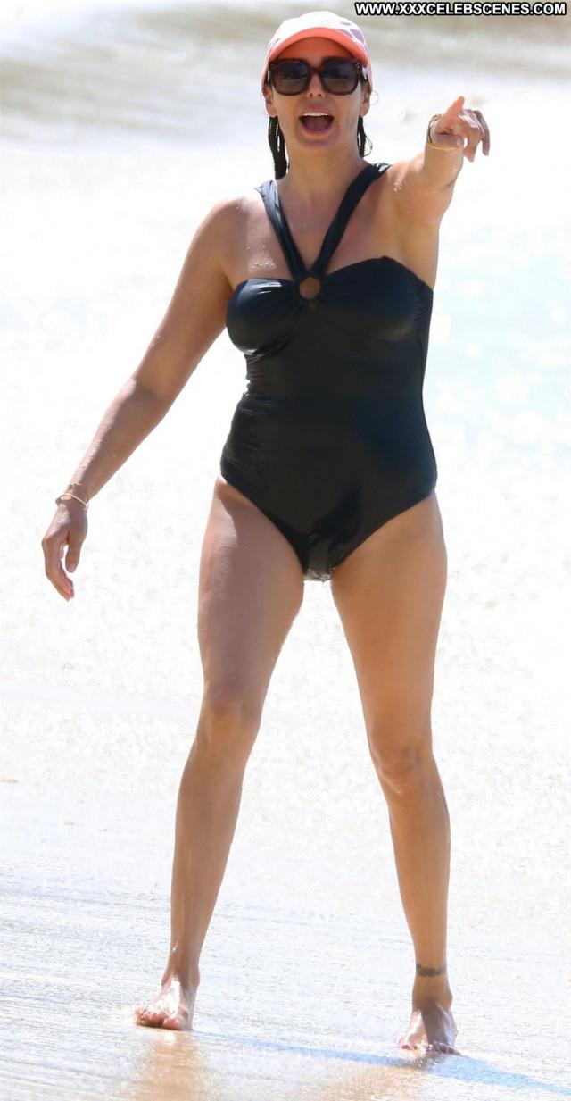 Lauren Silverman No Source Swimsuit Babe Celebrity Beautiful Posing